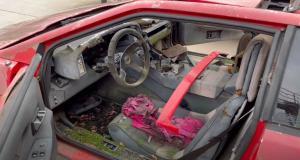 VIDEO - Cette Lotus Esprit est remise à neuf 20 après son abandon dans un champ