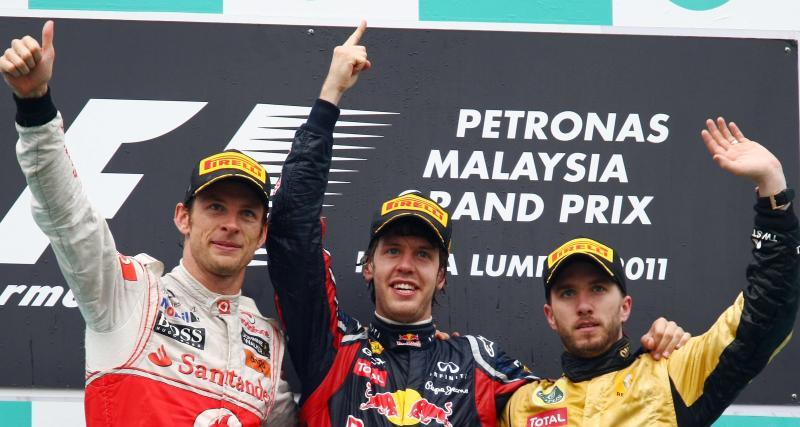 Il y a 10 ans... le 100e podium de Renault en F1