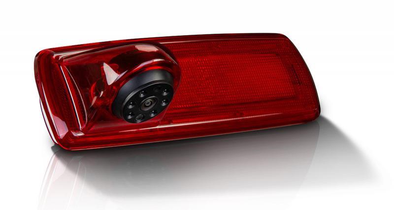 Une caméra de recul idéale pour les fourgons sur base de Renault Trafic chez Zenec
