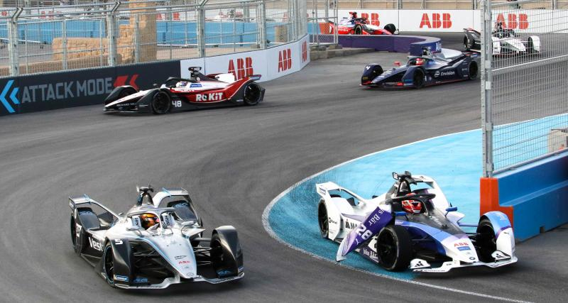Formule E - essais libres 2 de la course 1 de l'E-Prix de Rome : les résultats