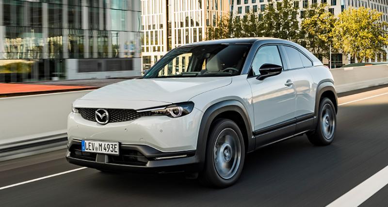 Mazda MX-30 100% électrique : réservez votre visio