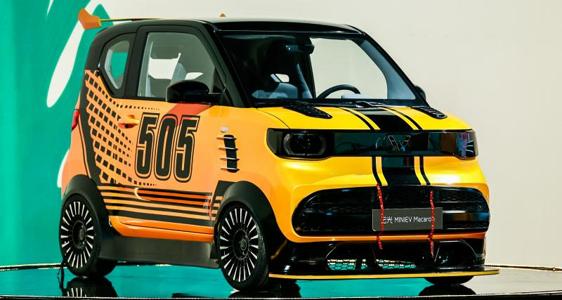 Le minivan chinois Wuling Hong Huang Mini EV Macaron, meilleur que la Dacia Spring ?
