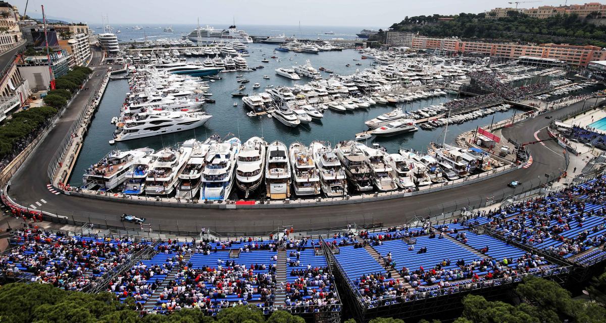 """Grand Prix de Monaco de F1 : des spectateurs et l'inauguration de la """"tribune Leclerc"""""""