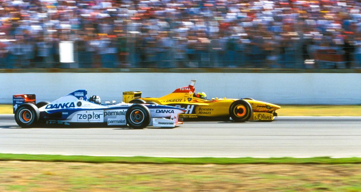 Il y a 24 ans… le 100e Grand Prix de F1 pour l'écurie Jordan