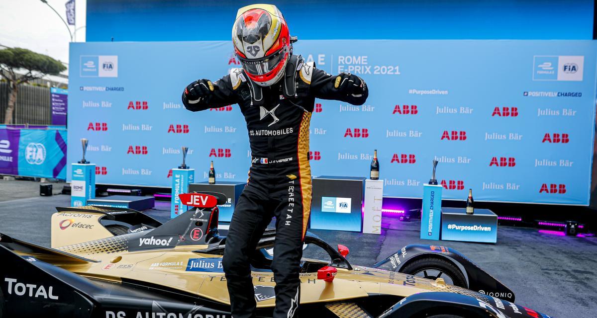 Formule E - E-Prix de Rome : le bilan du week-end de Jean-Éric Vergne
