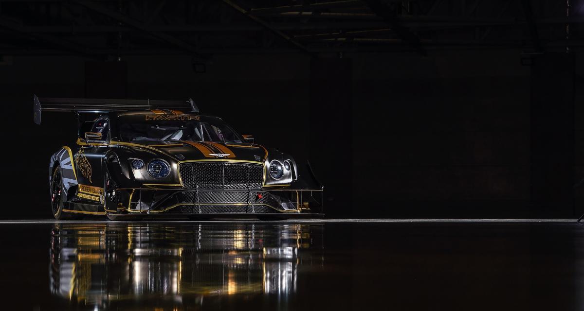 Bentley retourne à Pikes Peak 2021 avec une Continental GT3 tunée !
