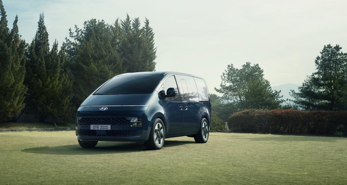 Hyundai Staria (2021) : ambiance science-fiction pour ce minibus coréen