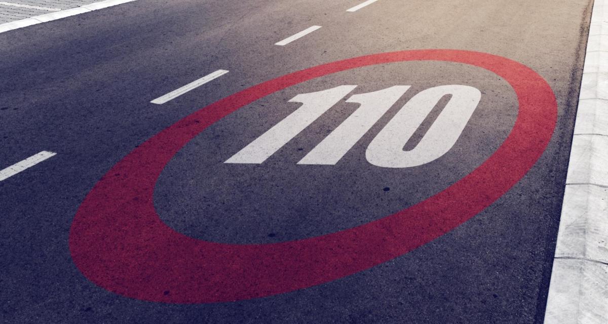 Excès de vitesse sur l'autoroute : quelle marge de tolérance lorsque la vitesse est limitée à 110 km/h ?