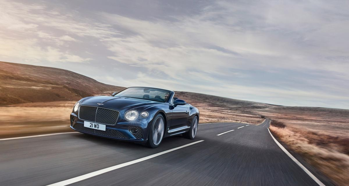 La Bentley Continental GT Speed se décline maintenant en version cabriolet