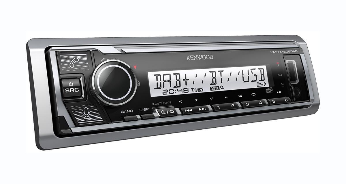 Un autoradio numérique bien équipé et élégant chez Kenwood-Electronics