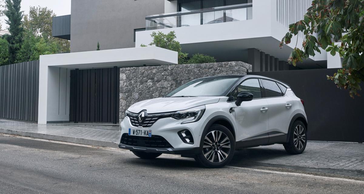 Renault Captur 2 : combien d'exemplaires vendus en 2021