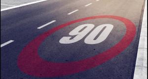 Excès de vitesse sur l'autoroute : quelle est la marge de tolérance lorsque la vitesse est limitée à 90 km/h ?