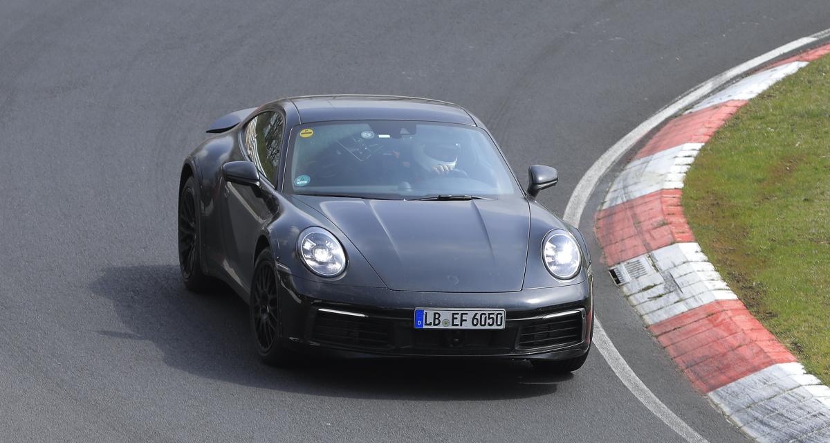 """La future Porsche 911 Safari de nouveau surprise sur le """"ring"""""""