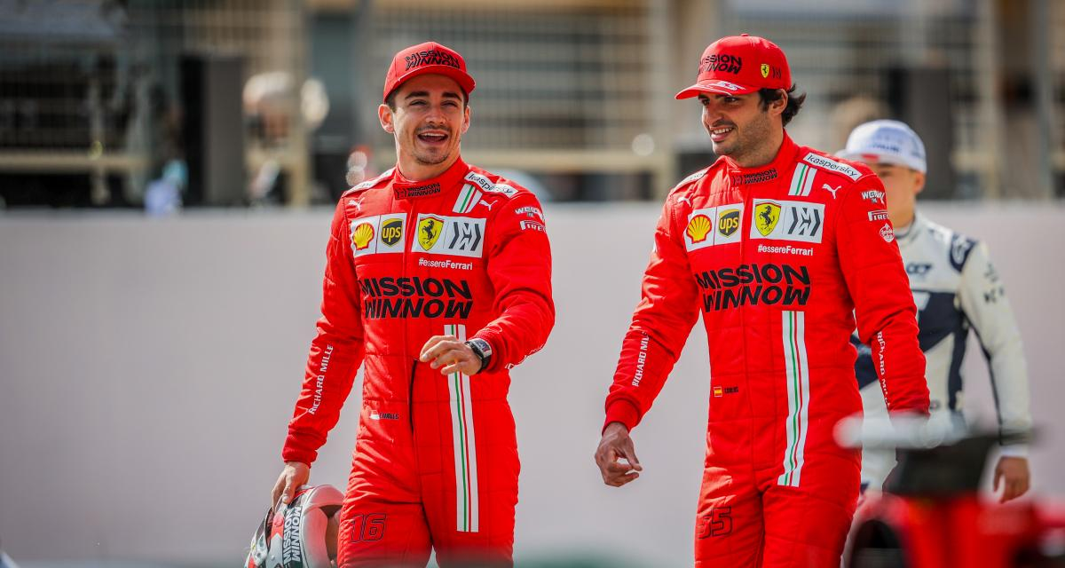 Scuderia Ferrari : Carlos Sainz partage son admiration pour Charles Leclerc
