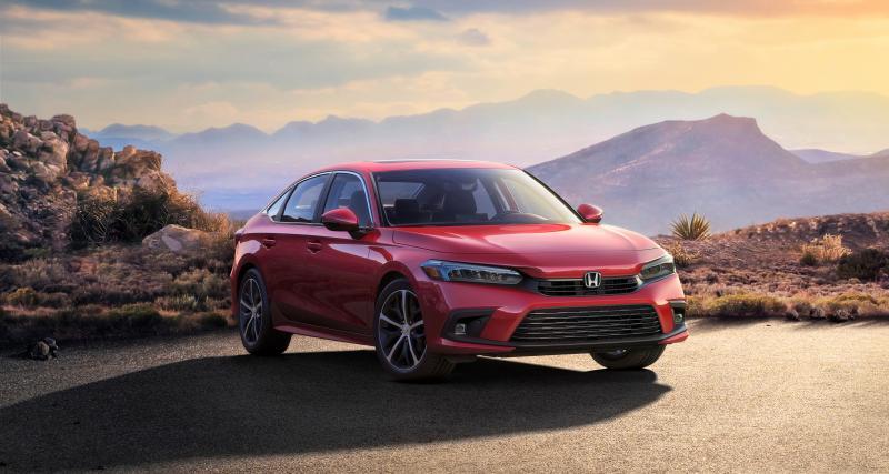 Nouvelle Honda Civic (2022) : une 1ère image de la berline japonaise en version définitive
