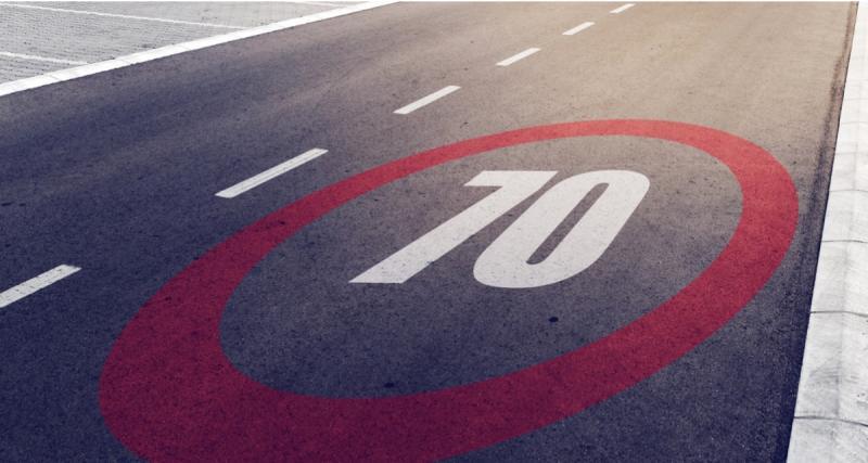 Excès de vitesse : quelle est la marge de tolérance lorsque la vitesse est limitée à 70 km/h ?
