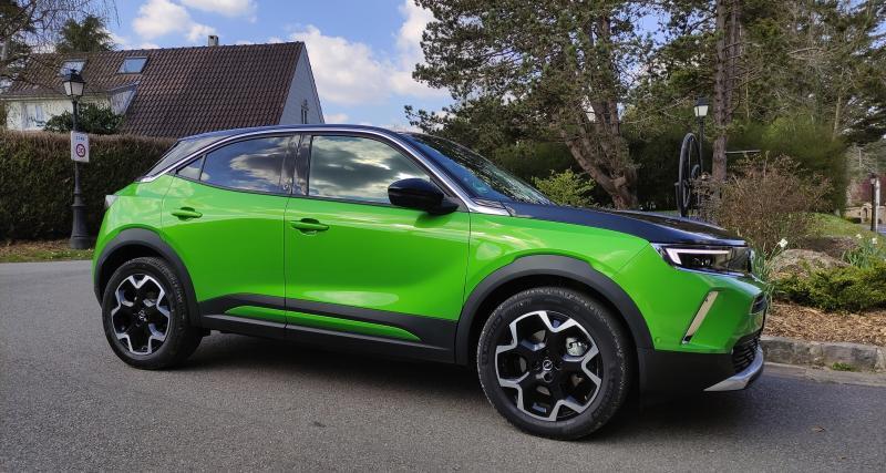 Essai du nouveau Opel Mokka-e : nos photos du SUV urbain
