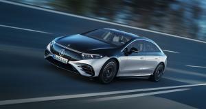 Mercedes EQS (2021) : jusqu'à 770 km d'autonomie pour la limousine 100% électrique