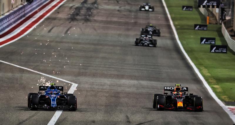 GP d'Emilie Romagne de F1 : le crash entre Perez et Ocon en vidéo