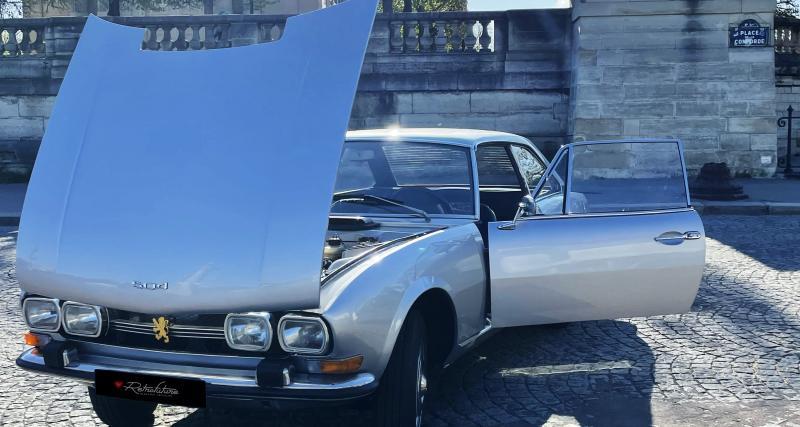 Peugeot 504 Coupé : la classique au rétrofit électrique en 3 points