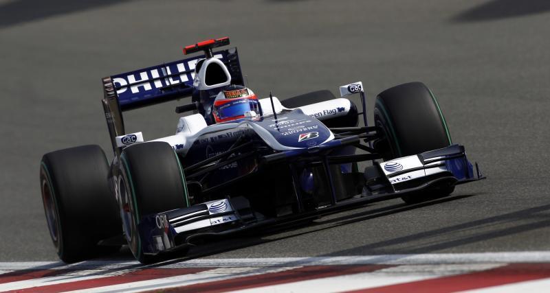 Il y a 11 ans... le 550e Grand Prix de l'écurie Williams