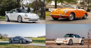 Le gratin des Porsche à la prochaine vente aux enchères d'Amelia Island