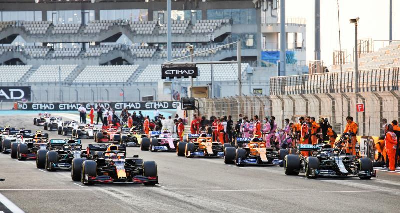 GP d'Emilie Romagne de F1 : la grille de départ
