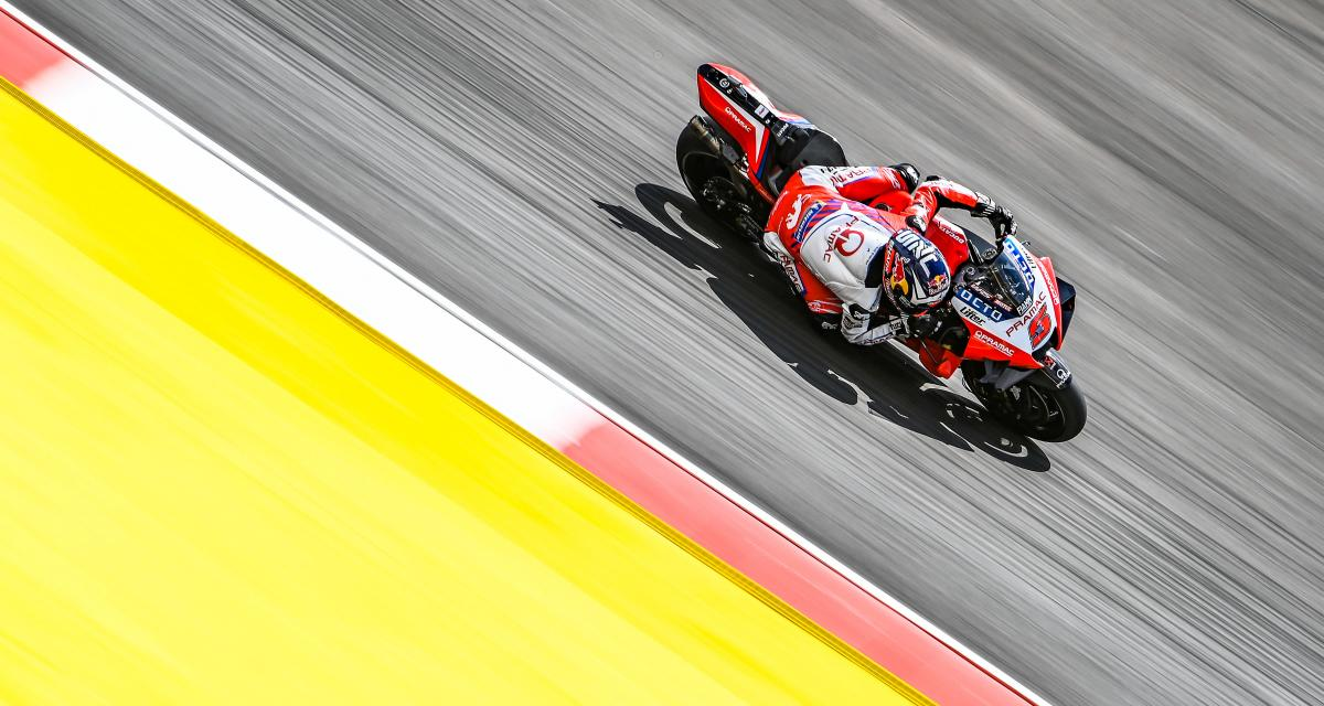 GP du Portugal de MotoGP : la chute de Johann Zarco en qualifications en vidéo