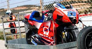 "Grand Prix du Portugal de MotoGP, Martin OUT : ""J'ai mal mais je suis Martinator"""