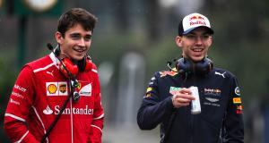 Leclerc-Gasly, Ferrari-Alpha Tauri : le double derby du GP d'Imola