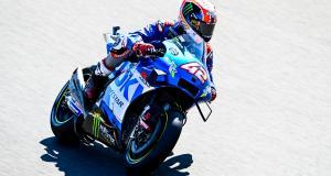 GP du Portugal de MotoGP : la chute d'Alex Rins en vidéo