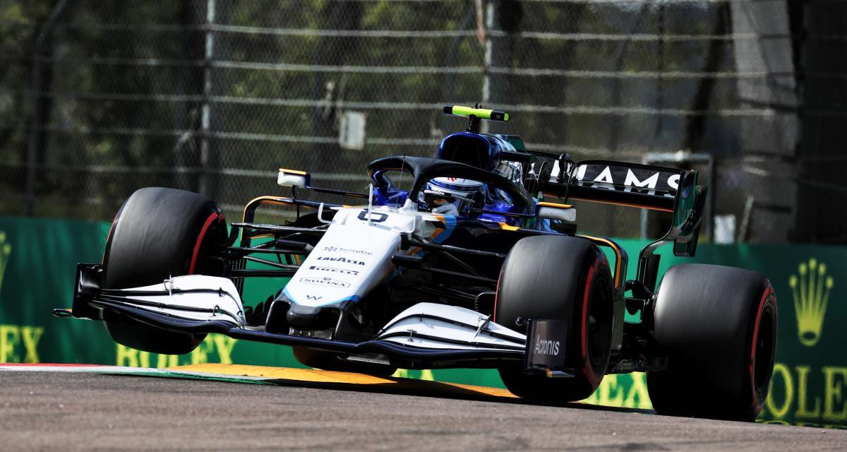 GP d'Emilie Romagne de F1 : le choc violent entre Mazepin et Latifi en vidéo