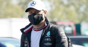 GP d'Emilie Romagne de F1 : la réaction en vidéo de Valtteri Bottas après son accident avec George Russell
