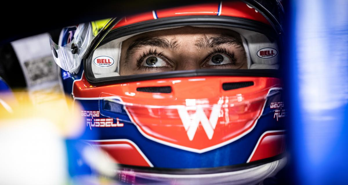 GP d'Emilie Romagne de F1 : la réaction en vidéo de George Russell après son accident avec Valtteri Bottas