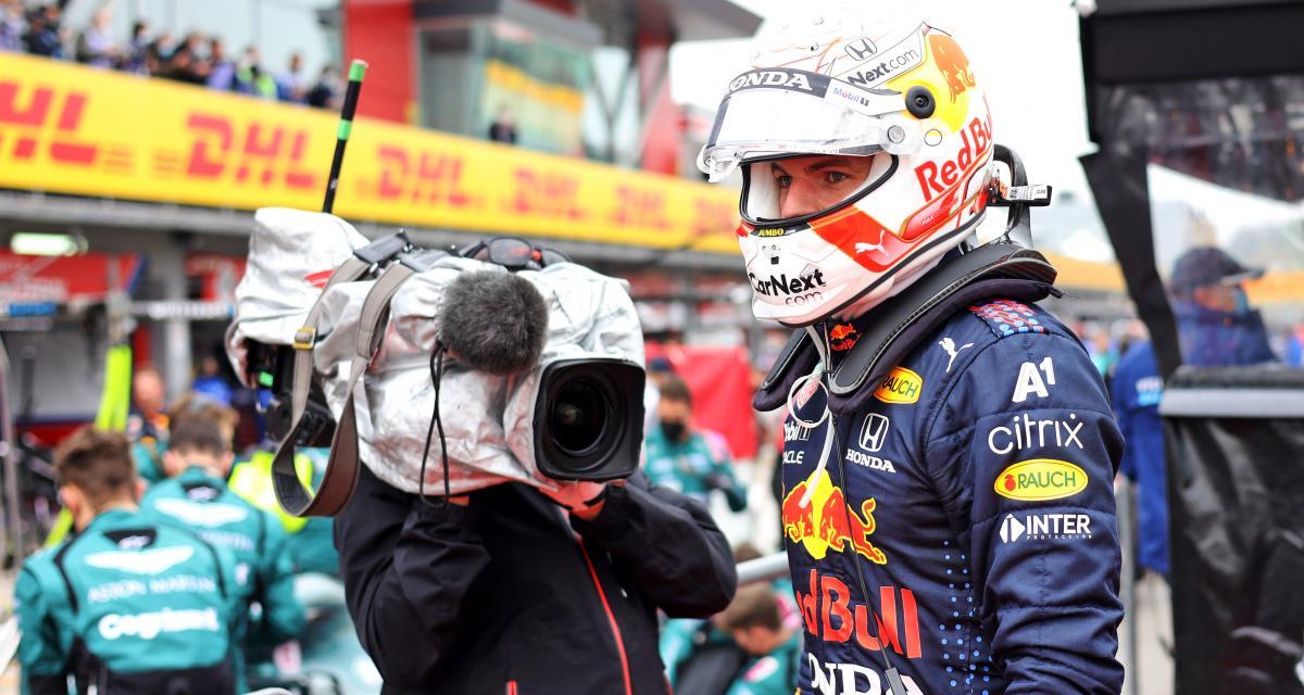 GP d'Emilie Romagne de F1 : la réaction en vidéo de Max Verstappen après sa victoire