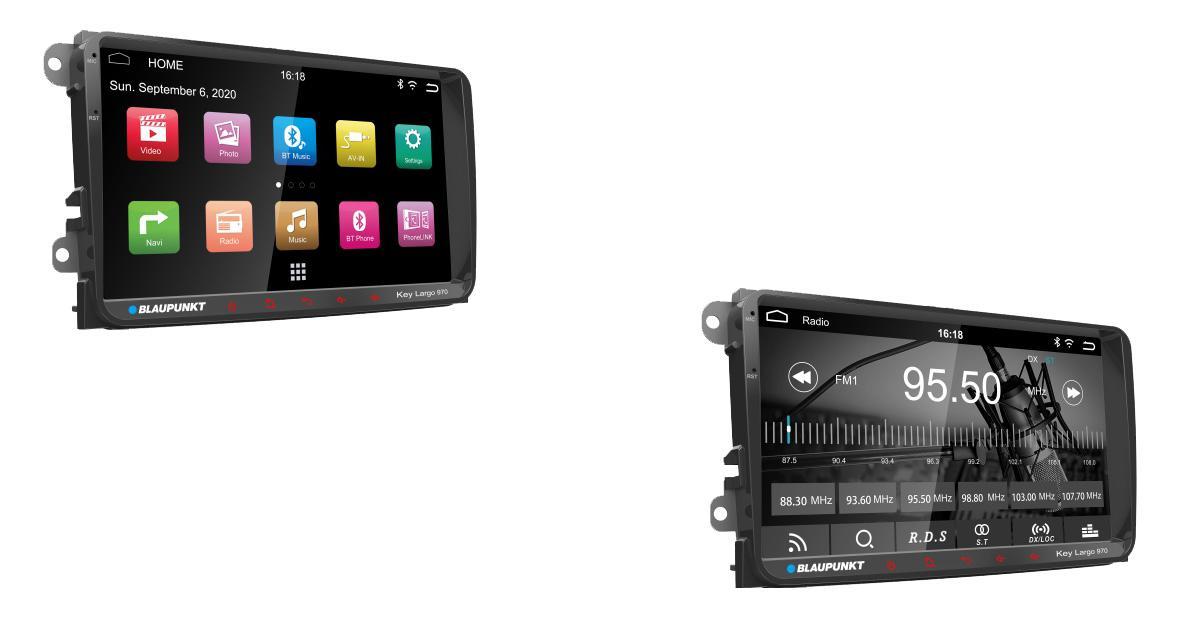 Blaupunkt commercialise un autoradio Android « plug and play » pour les VW en Asie