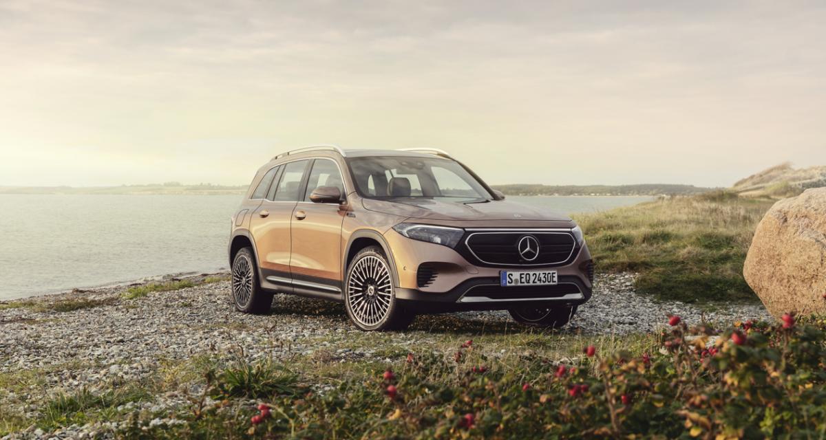 Mercedes EQB (2021) : le premier SUV intermédiaire 7 places et 100% électrique