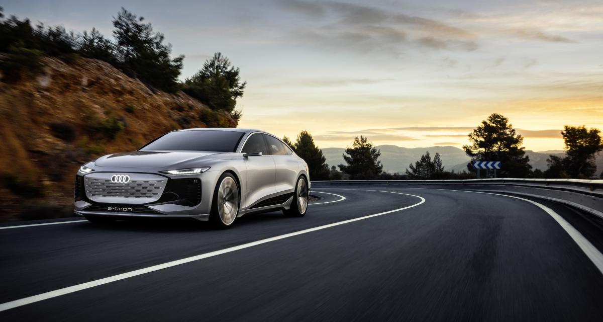 Audi A6 e-tron concept : les anneaux contre-attaquent à Shanghai