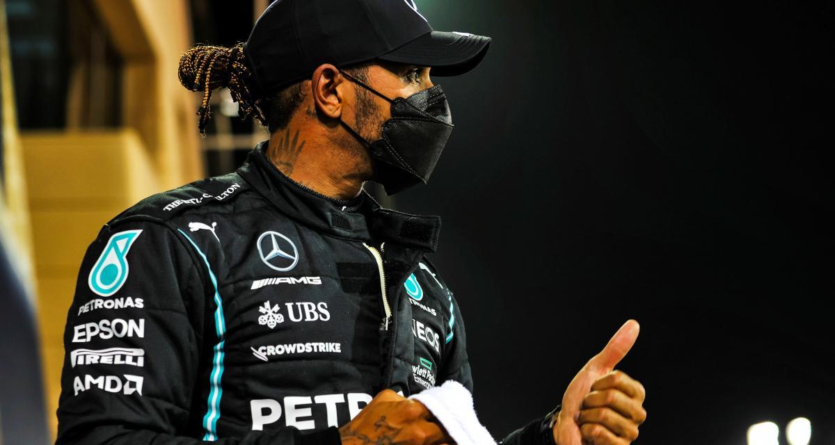 Sir Lewis Hamilton partage les résultats de sa routine sportive