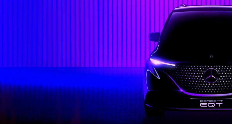 Mercedes Classe T (2022) : un nouvel utilitaire léger annoncé par le concept EQT
