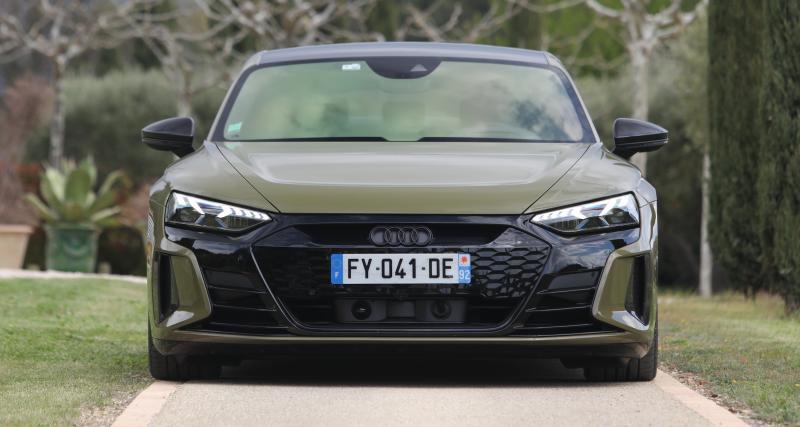 Essai de la nouvelle Audi RS e-tron GT : nos photos de la berline sportive électrique