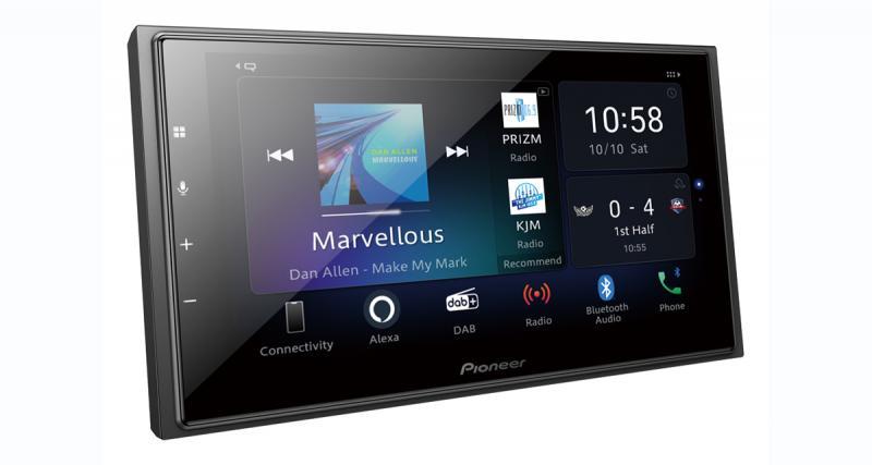 Pioneer dévoile un nouvel autoradio multimédia modulaire avec CarPlay et Android Auto