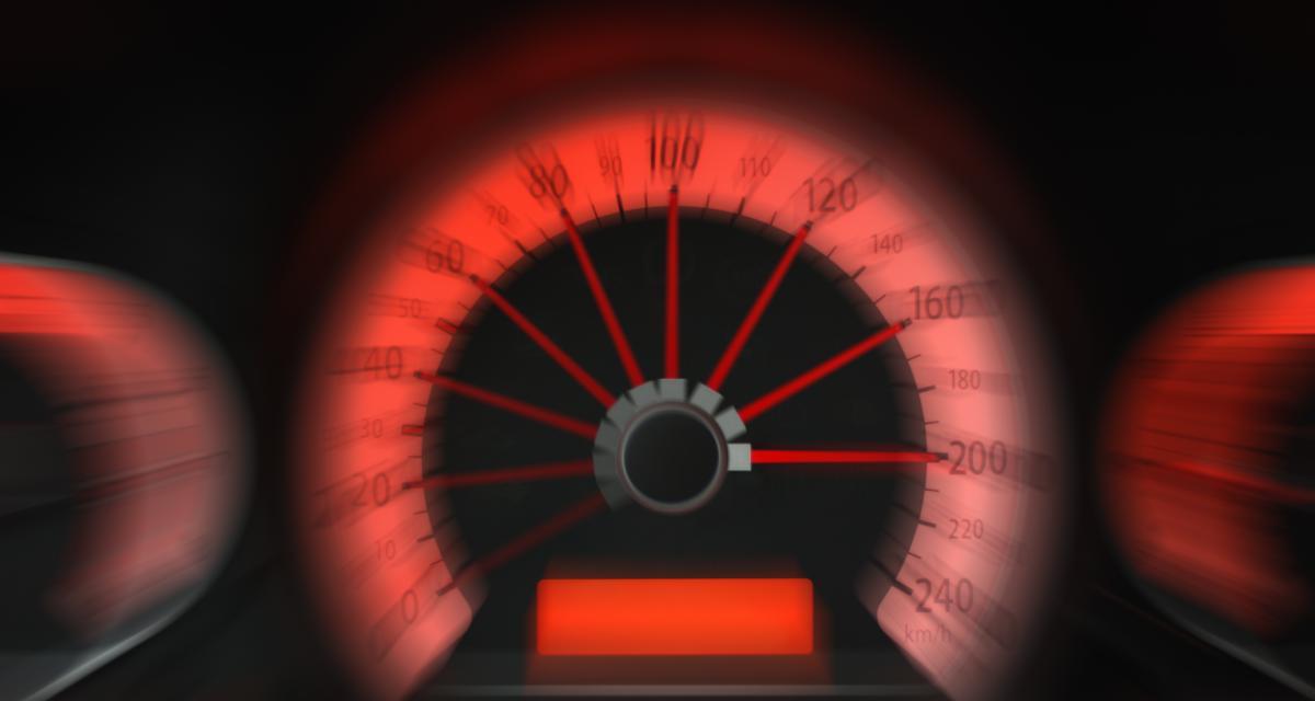 Fou du volant : à 187 km/h au lieu de 80 cet automobiliste a trop poussé sa Mercedes