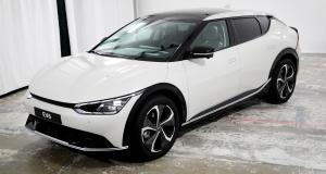 Kia EV6 (2021) : nos photos du crossover 100% électrique en exclusivité