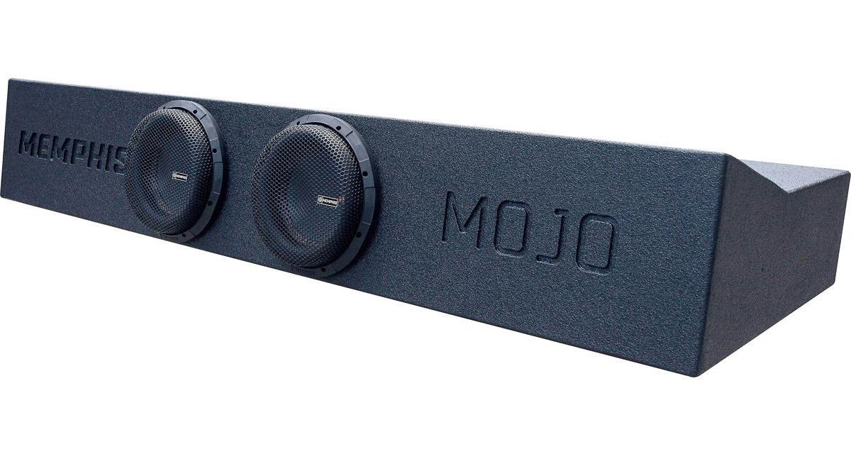 Memphis Audio propose des caissons de grave intégrables pour les pick-up américains