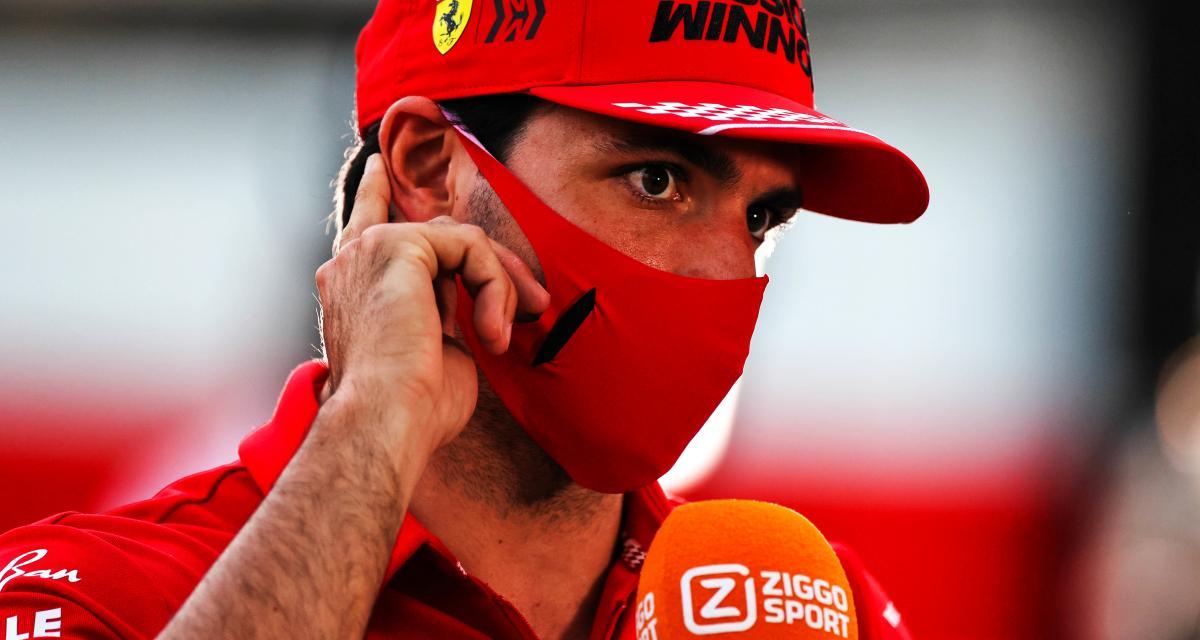 GP d'Emilie Romagne de F1 : Carlos Sainz fait taire les moqueries qu'il a reçues à propos de la Scuderia Ferrari
