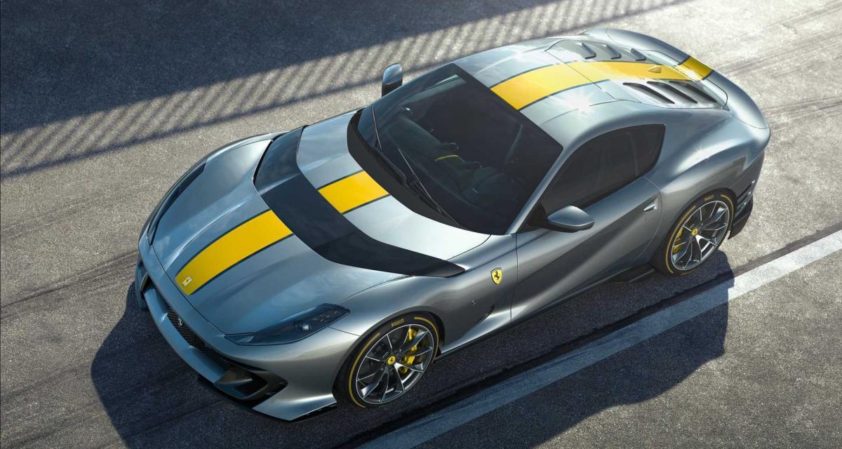 Ferrari 812 Limited Edition V12 : la sportive italienne transfigurée