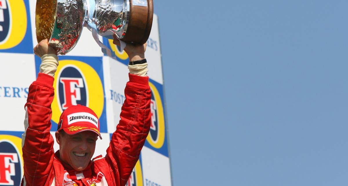 Il y a 15 ans… la 85e victoire de Michael Schumacher