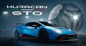 Rocket League active le mode sport avec l'arrivée de la Lamborghini Huracán STO