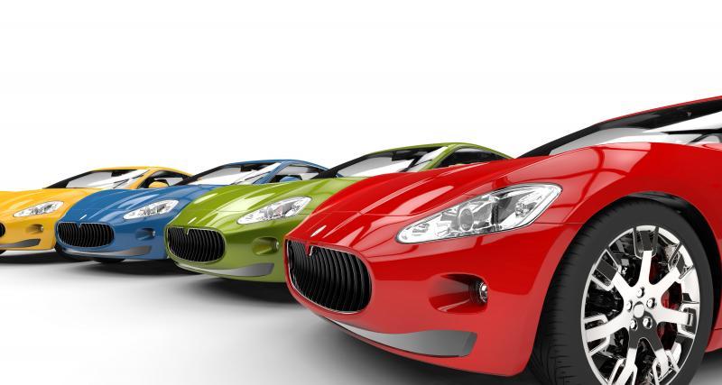 Le saviez-vous : la couleur de votre voiture peut influencer le prix de votre assurance